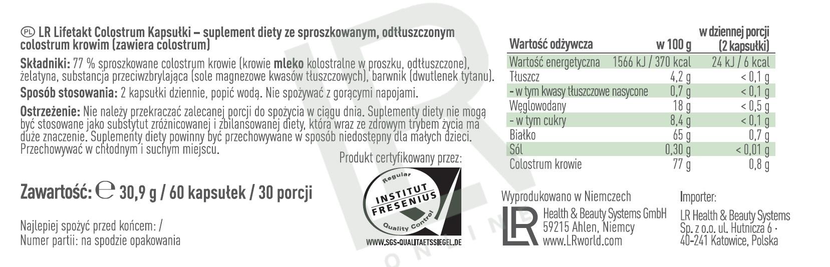Etykieta Produktu