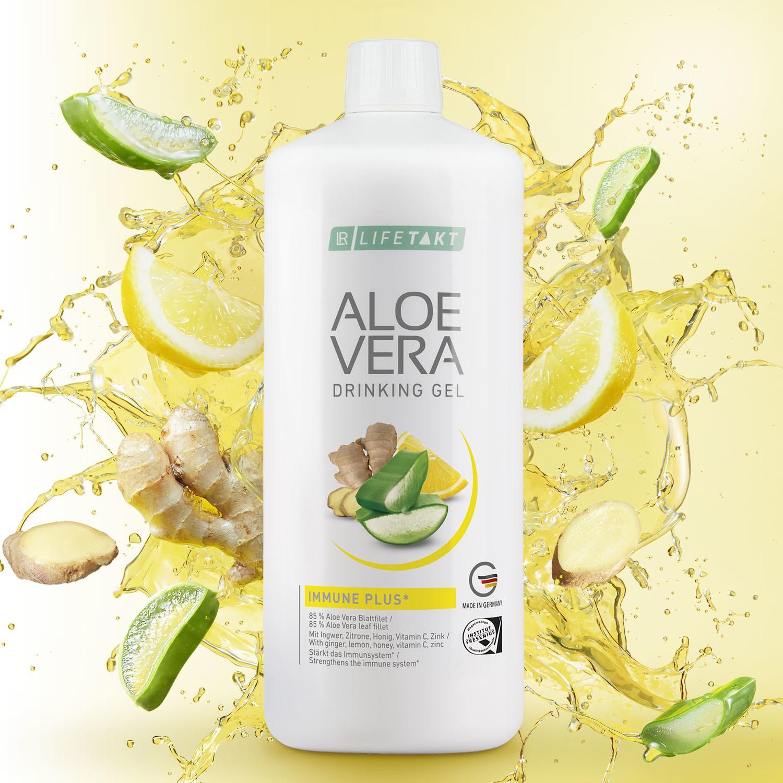 LR Health & Beauty Systems Aloe Vera Immune Plus Żel do Picia LR